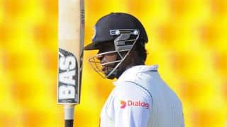 Angelo Mathews leads Sri Lanka's charge