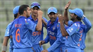 Bangladesh make heavy weather of chase against India in 2nd ODI at Dhaka