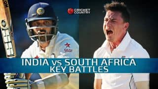 India vs South Africa 2015, 1st Test at Mohali: Key Battles