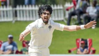 Watch: Ishant pick five wickets in his first County match for Sussex