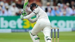Martin Guptill scores half-century on Test comeback in England vs New Zealand, 1st Test Day Two at Lord's