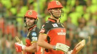 यह विकेट शुरुआत में बल्लेबाजी के लिए काफी मुश्किल था- एबी डिविलियर्स
