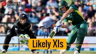 New Zealand vs South Africa, 3rd ODI: Likely XIs for Kane Williamson and AB de Villiers' sides