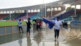 1st ODI: Rain washes out Pakistan-Sri Lanka match in Karachi