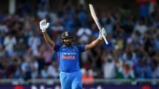 Rohit Sharma's ton puts India 1-0 up Vs England.