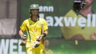 Glenn Maxwell at peace with