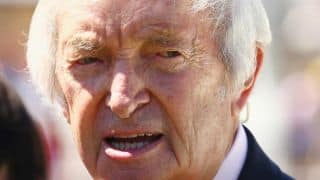 Richie Benaud could do commentary from home