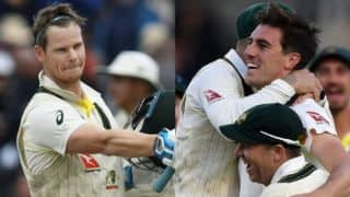 Ashes 2019: Steve Smith, Pat Cummins star as Australia beat England in fourth Test to retain Ashes