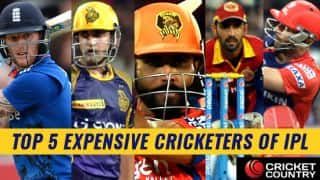 IPL 2017 Auction: Top 5 expensive cricketers in the history of Indian Premier League auctions