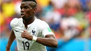 Paul Pogba hails teammates after France beat Nigeria in FIFA World Cup 2014
