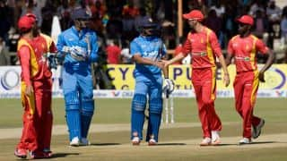 India vs Zimbabwe 2015, Live Cricket Score: 2nd ODI at Harare