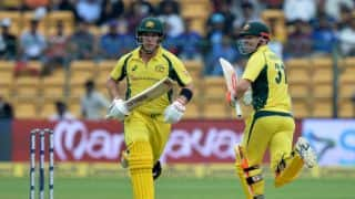 Aaron Finch: I'd definitely put my hand up for captaincy