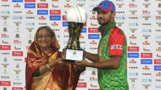 Mashrafe Mortaza requests Bangladesh Prime Minister for national holiday following historic victory