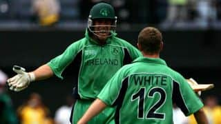 Ireland close in on victory over Afghanistan in ICC Intercontinental Cup final