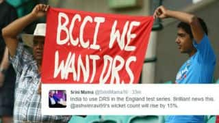 Twitterati react to BCCI's decision of opting for DRS in IND - ENG Test series