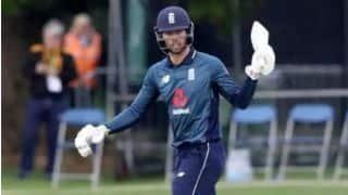 क्रिकेट न्यूज लाइव- टॉम कर्रन और बेन फोक्स ने इंग्लैंड को उलटफेर होने से बचाया