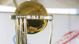 Eoin Morgan to welcome ICC World Cup 2015 trophy at Lord's