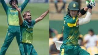 1st ODI: Imran Tahir, Faf du Plessis power Proteas to 8-wicket win