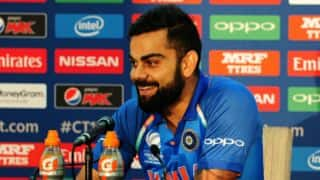 CT17 Final: Kohli's pre-match press conference ahead of PAK clash