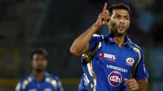 Rishi Dhawan, Akshar Patel fight to take Kings XI Punjab to a competitive score against Kolkata Knight Riders in IPL 2014