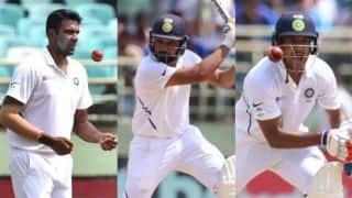 India vs South Africa, 1st Test: Rohit Sharma, Mayank Agarwal, Ravindra Jadeja, Ravichandran Ashwin,  Mohammed Shami