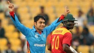 सबसे कम उम्र में 'शतक' लगाने वाले गेंदबाज बने राशिद खान !