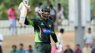 VIDEO: Mohammad Hafeez's match-winning 75 in India vs Pakistan, Asia Cup 2014