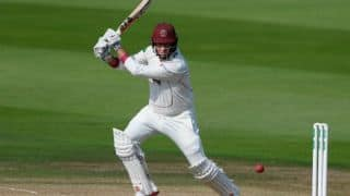 Marcus Trescothick breaks foot after 66th First-Class century