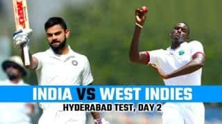 India vs West Indies 2018, 2nd Test, Day 2 Live cricket score and updates: Pant, Rahane fifties drive India