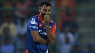 आईपीएल 2018: दिल्ली डेयरडेविल्स से जुड़े मोहम्मद शमी