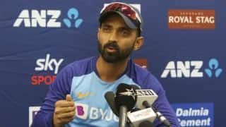 New Zealand will have home advantage but score of 350 runs will be enough to win: Ajinkya Rahane