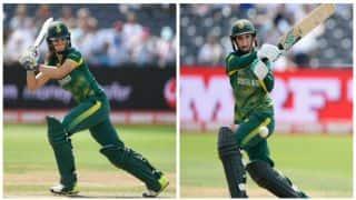 Mignon du Preez, Laura Wolvaardt deny India Women maiden whitewash; win 3rd ODI by 7 wickets