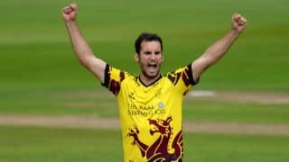 Lewis Gregory to lead Somerset in NatWest T20 Blast.