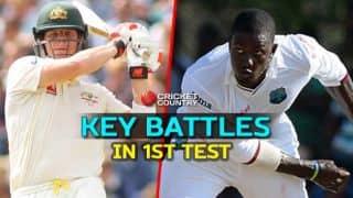 Australia vs West Indies 2015-16, 1st Test at Hobart: Key battles