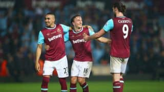 EPL 2015-16: West ham United beat Manchester United 3-2 in final game at Upton Park