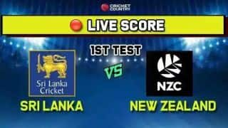 Sri Lanka vs New Zealand, 1st Test, Day 5 Live Cricket Score: Somerville strikes to remove Thirimanne