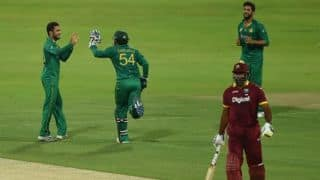 ICC World Cup 2019, West Indies vs Pakistan, Match 2: Jason Holder win the toss, opts to field