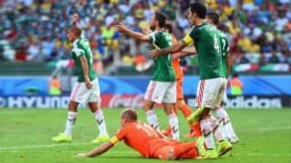 Netherlands beat Mexico 2-1 in controversial FIFA World Cup 2014 Round of 16 match