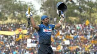 Dilshan congratulated by ICC