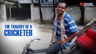 Former Bangladesh cricketer and an MBA from London is currently a rickshaw-puller in Dhaka