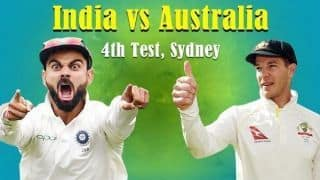 India vs Australia 2018, 4th Test, Day 5, LIVE: India claim historic Test series win