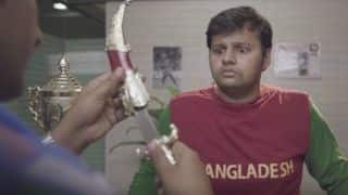 ICC T20 World Cup 2016: Indian fan's hilarious video in reply to controversial Taskin Ahmed-MS Dhoni poster