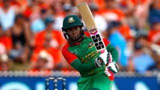Bangladesh vs Zimbabwe 2015-16, 1st ODI: Mushfiqur Rahim's century guides Bangladesh to 273