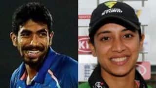 Smriti Mandhana, Jasprit Bumrah win Wisden India Almanack Cricketer of the Year award