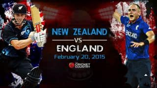 New Zealand vs England ICC Cricket World Cup 2015 Pool A Match 9 at Wellington, Preview: New Zealand favourites against England