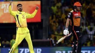 IPL 2019 के अपने आखिरी मुकाबले में शून्य पर आउट हुए जॉनी बेयरस्टो