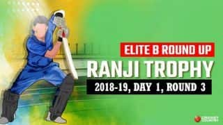 Ranji Trophy 2018-19, Elite B, Round 3, Day 1: Andhra struggling at 198/8 after Mohammed's 4/60