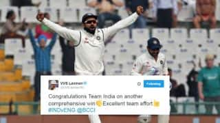 India go 2-0 up after winning Mohali Test against England; Twitter reacts
