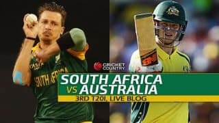 AUS 181/4 in 20 overs | Live Cricket Score South Africa vs Australia, SA vs AUS, 3rd T20I at Cape Town: Australia win by six wickets