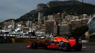 F1 Monaco Grand Prix: Red Bull's Daniel Ricciardo tops second free practice session